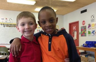 7yo with friend-bi-racial-GoFundMe-cropped