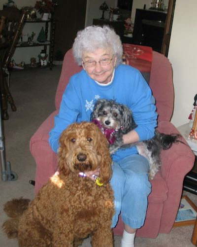 Cecilia-with-dogs-CaregiverCanines-submitted