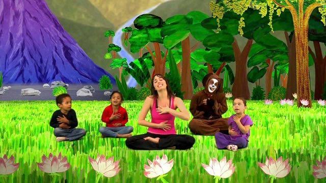 Kids Bend Over Backwards For Free Online Yoga Video Good
