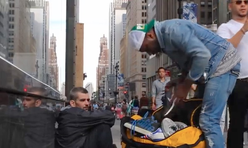 NYC-homeless-shoe-giveaway-ItsFromTheSole-youtube-750