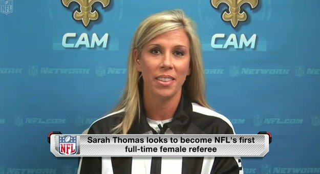 Sarah Thomas-NFL-official