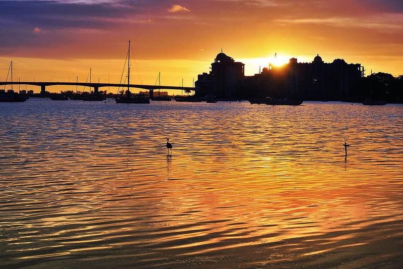 Sarasota Florida sunset-CC Lawrence Lazare