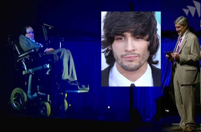Steven Hawking hologram-one-direction-EvaRinaldi