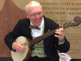 banjo player period 1800s