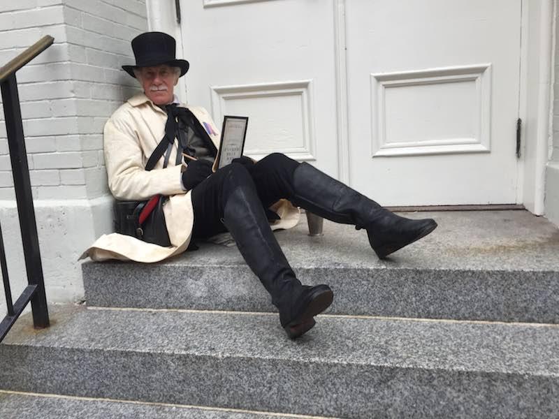 period costume 150 yrs ago-reporter