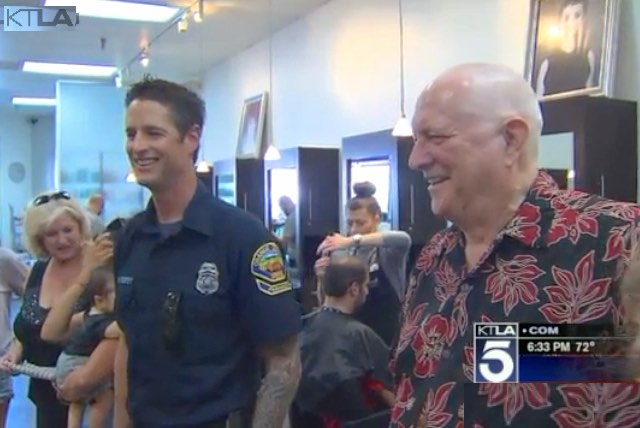 reunion of doctor and paramedic-KTLAvideo