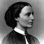 Clara Barton engraving portrait