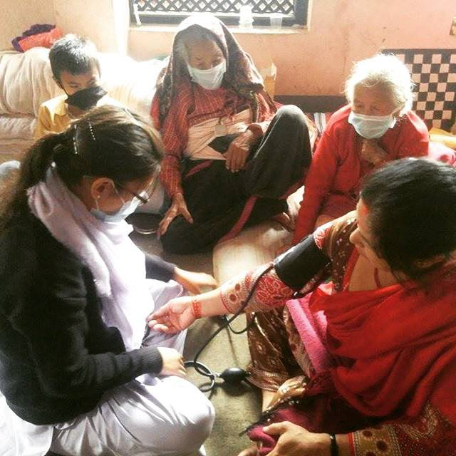 Group Home Girls Nepal Earthquake Nurse Unatti Foundation Facebook Photo