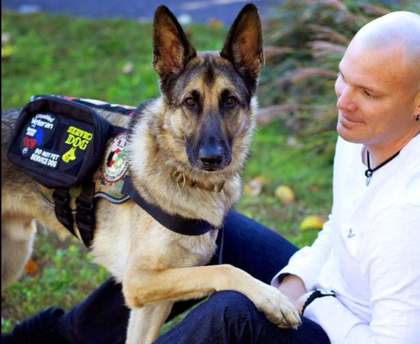 Haag and Axel Veteran Service Dog of the Year submitted american humane association
