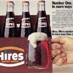 Hires root beer vintage ad