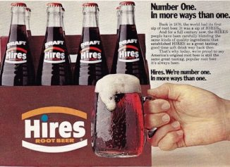 Hires root beer vintage ad
