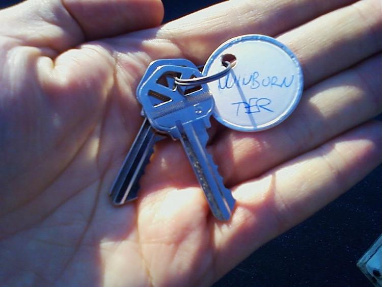 Our keys!