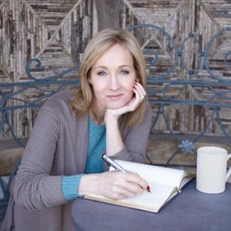 J.K. Rowling Twitter Photo