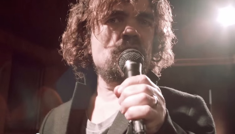 Peter Dinklage Coldplay Screenshot YouTube