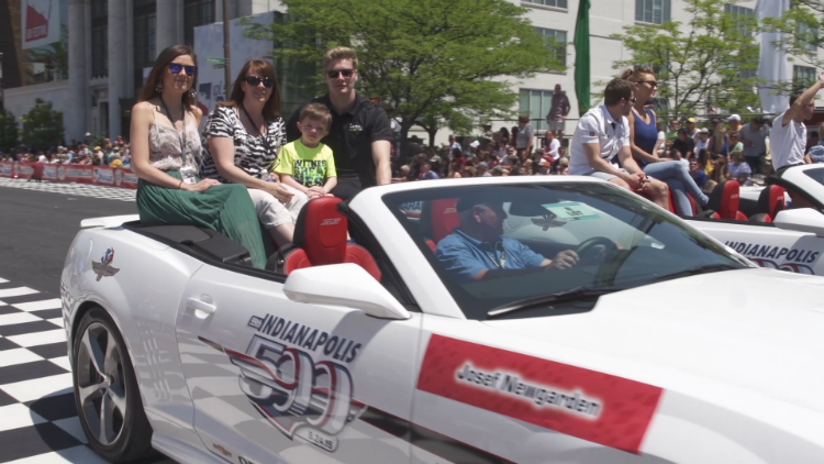 Racecar surprise story easter seals photo submitted