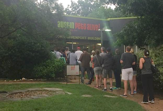 austin pets alive line out the door-FB
