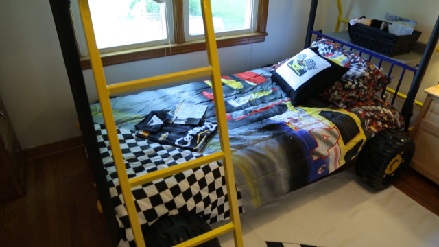 racecar bed from surprise story submitted