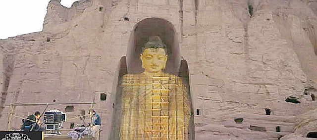 3D Buddha projector-youtube