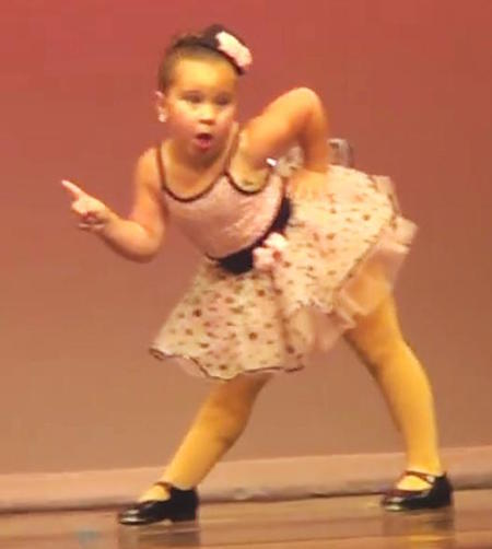 6yo dancer Johanna Colon-youtube