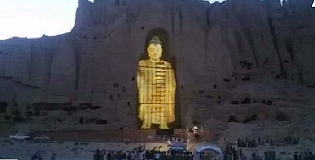 Shop Good Earth Lighting Metropolitan 3 Light Bronze: Take THAT, Taliban: Couple Creates 3D Hologram Display Of