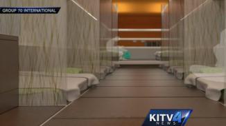 Honolulu bus homeless shelter interior KITV video