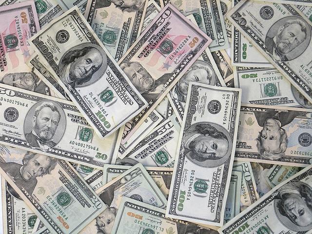 Money assorted bills CC Tracy O