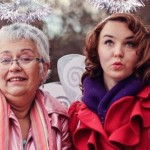 Robyn Willson-dress-up-with-mother-familyphoto