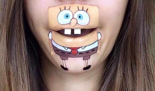 Spongebob-facepaint-Instagram-Laura-Jenkinson