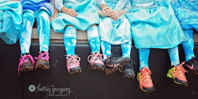 Tiny Team of Elsas Feet CC Betsy Gregory