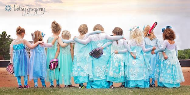 Tiny Team of Elsas Back Shot CC Betsy Gregory