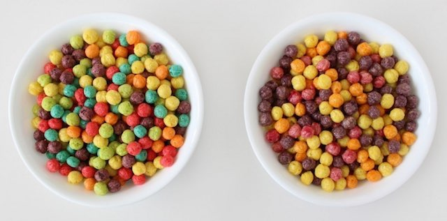 Trix cereal color change-general mills photo