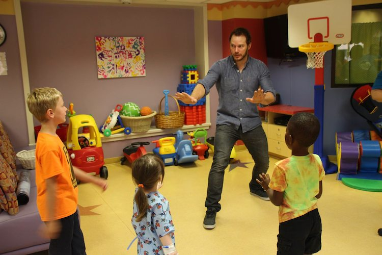 chris pratt jurassic childrens hospital reddit chrysias