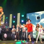 fedora boy dylan pharrell concert screenshot youtube