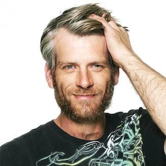 homeless rockstars guy with hair copyright nigel skeet