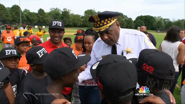 Chicago cops coach youth baseball-NBCvid