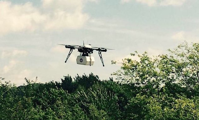 Drone medical supplies Twitter Flirty2
