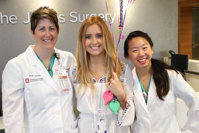 Elli and nurses