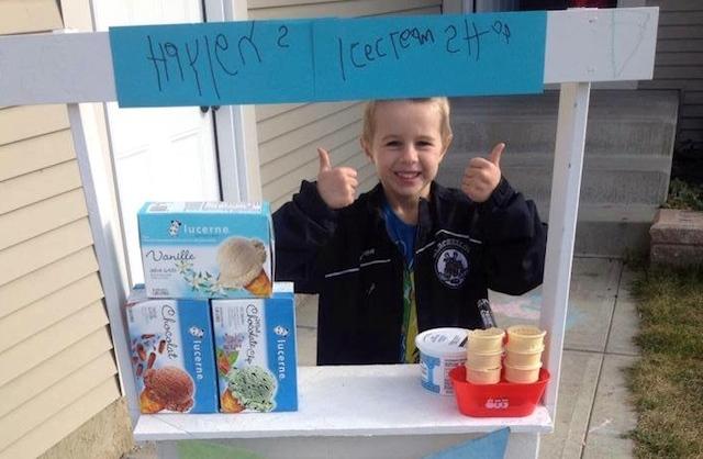 Haylen ice cream Facebook
