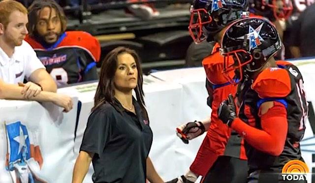 Jen Welter NFL coach screenshot TODAY