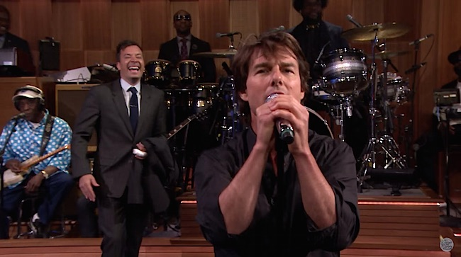 Jimmy Fallon Tom Cruise lip sync screenshot NBC
