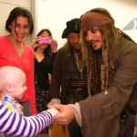Johnny Depp at Childrens Hospital Foundation-JuicedTV