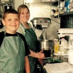 Lucas Hobbs With Mom Food Truck ChefLucasFood Facebook