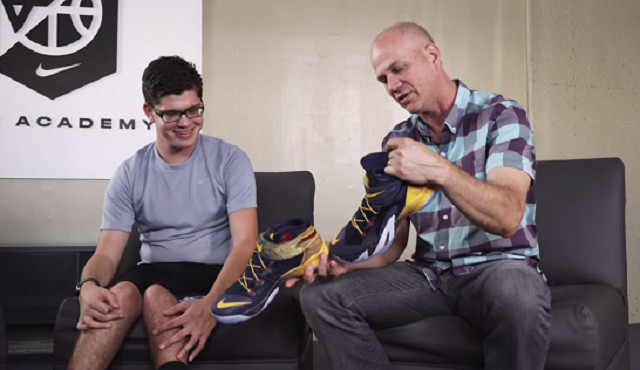 Matthew Walzer Nike shoe -Youtube