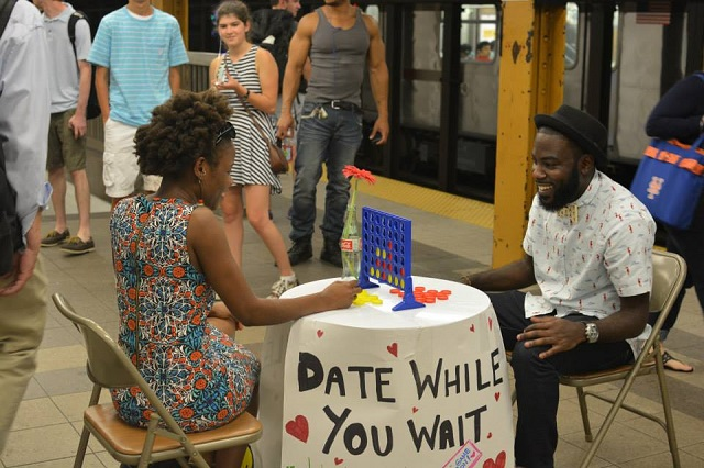 NY subway date - Date While You Wait fb
