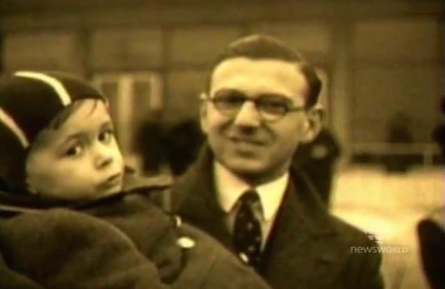 Nicholas Winton-newsreel-1939
