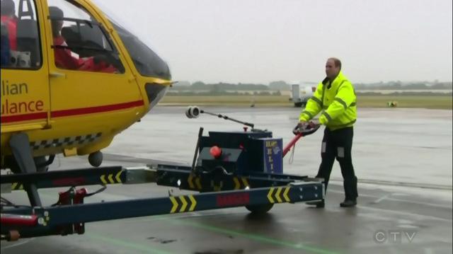 Prince William civilian air pilot -CTV vid