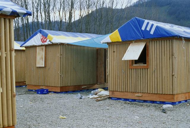 Shigeru Ban, Paper Log House, Turkey, Forgemind Archemedia
