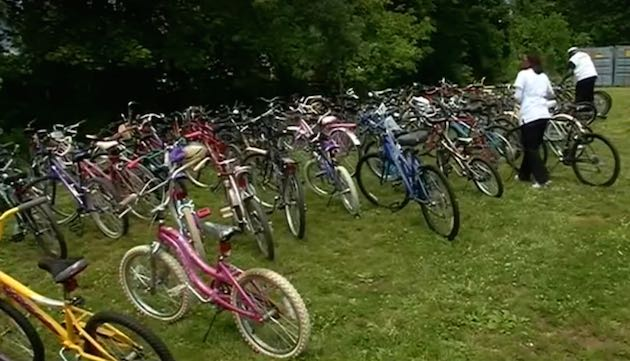Donate Bikes Rochester Ny Bikes Donated to Community