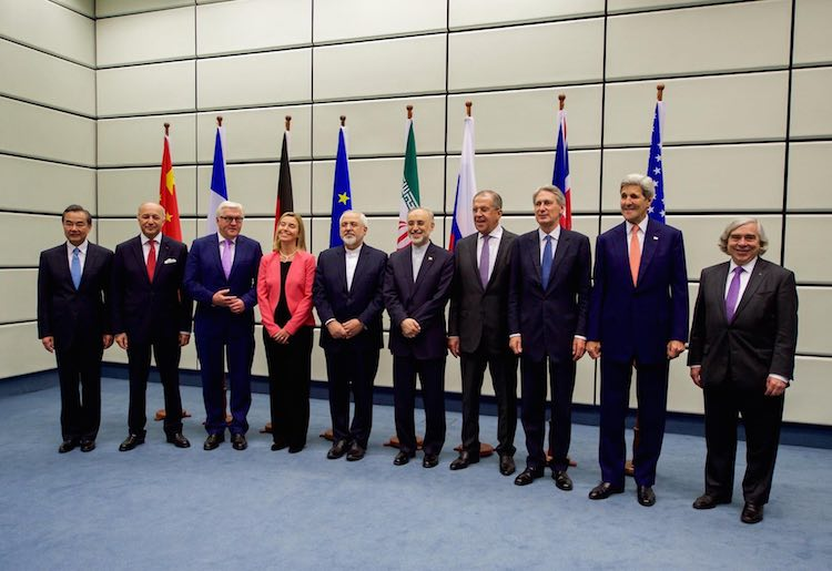 iran-nuclear-talks-with-ministers-secretaries-flags-StateDept