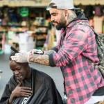 nasir sobhani cutting hair 1 Copyright Scott Bradshaw